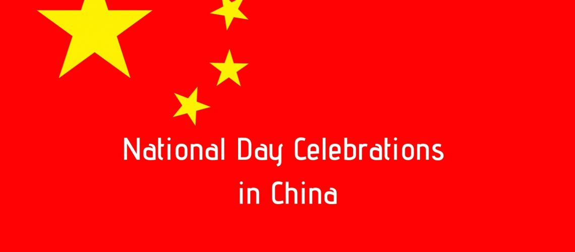 National Day Celebrations in China-Teach English in China