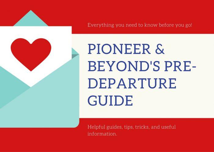 Pioneer & Beyond's Pre Departure guide-min