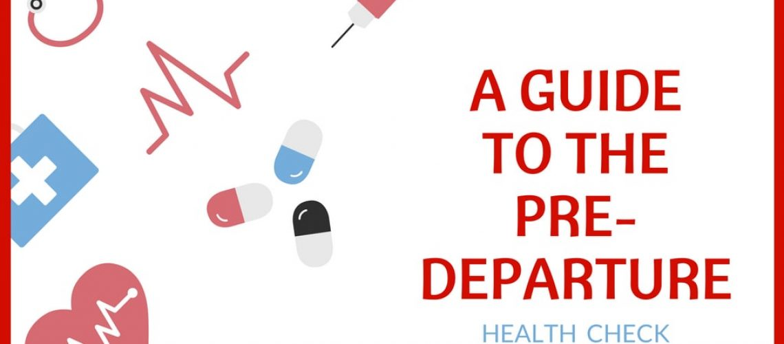 Predeparture health check to teach English in China predeparture guide