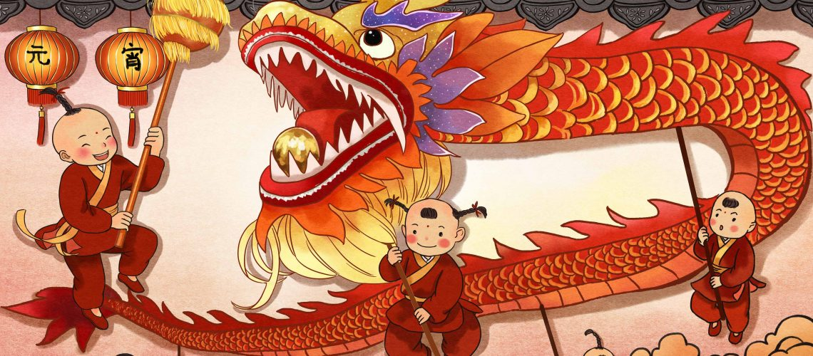 The history of the Chinese Dragon. Teach English in China Pioneer and Beyond (1)
