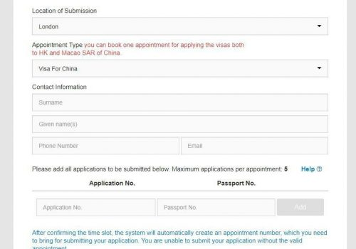 Z Visa Application UK 16