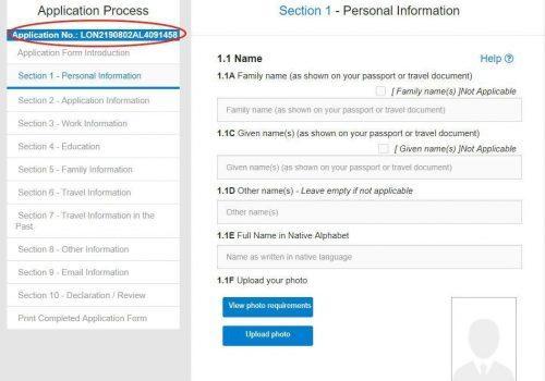 Z Visa Application UK 8