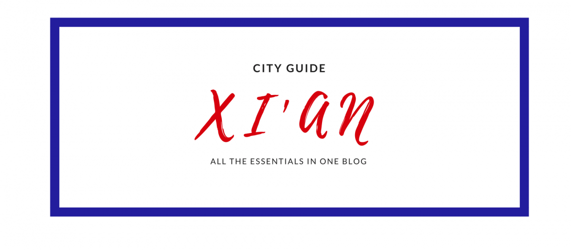 xian CITY GUIDE by pioneerbeyond teach english in china